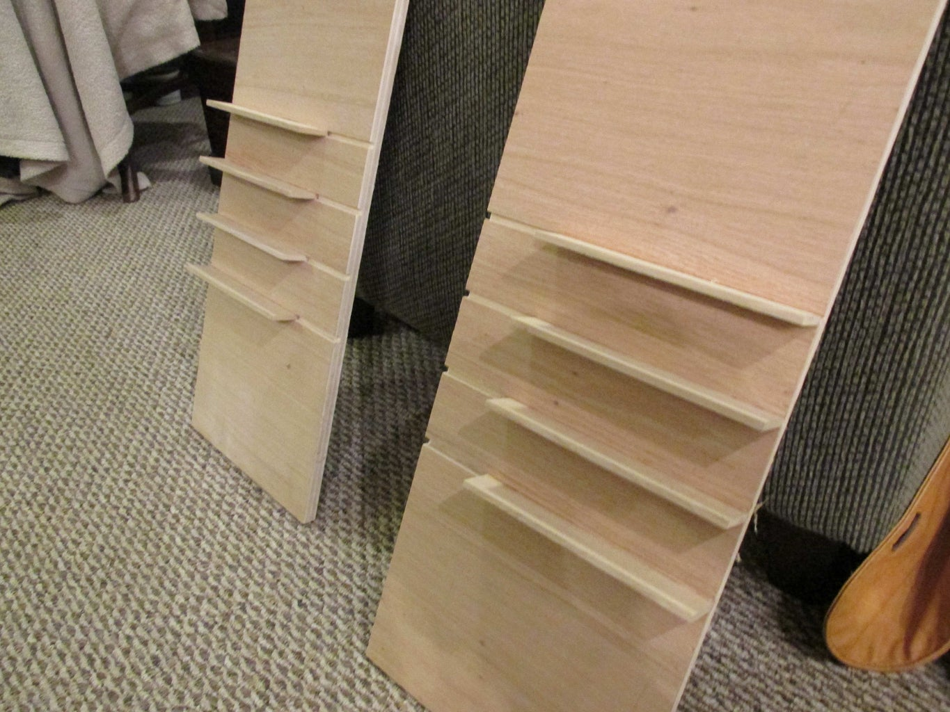 Glue in Slats for Drawers
