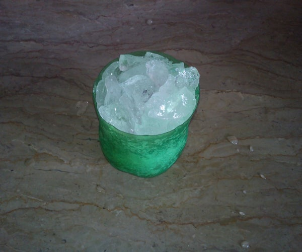 Ice Pots From Disposable Ordinary Bottles.