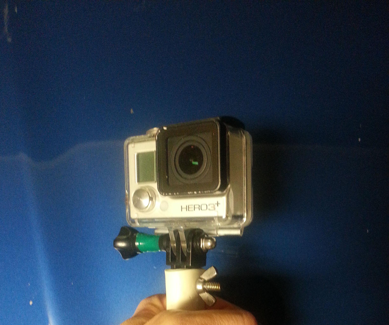Heat-molded GoPro PVC Mount System