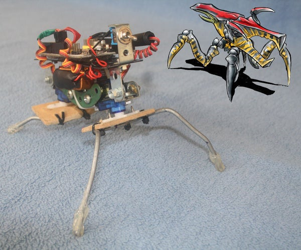 Mobile Robotics With Scratch: Build an Arduino-based Insect-like Walker and Program It With Scratch
