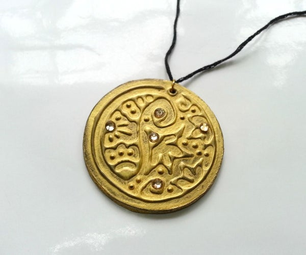 DIY Embossed Pendants!
