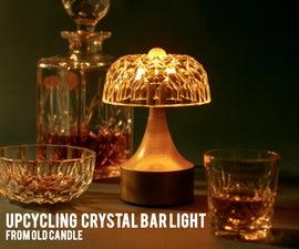 Crystal Candle Bar Light