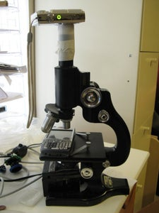 Microscope Photography With Webcam or Point-and-shoot Camera
