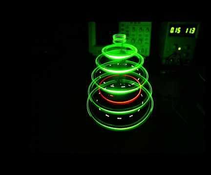 Rotating LED Christmas Tree