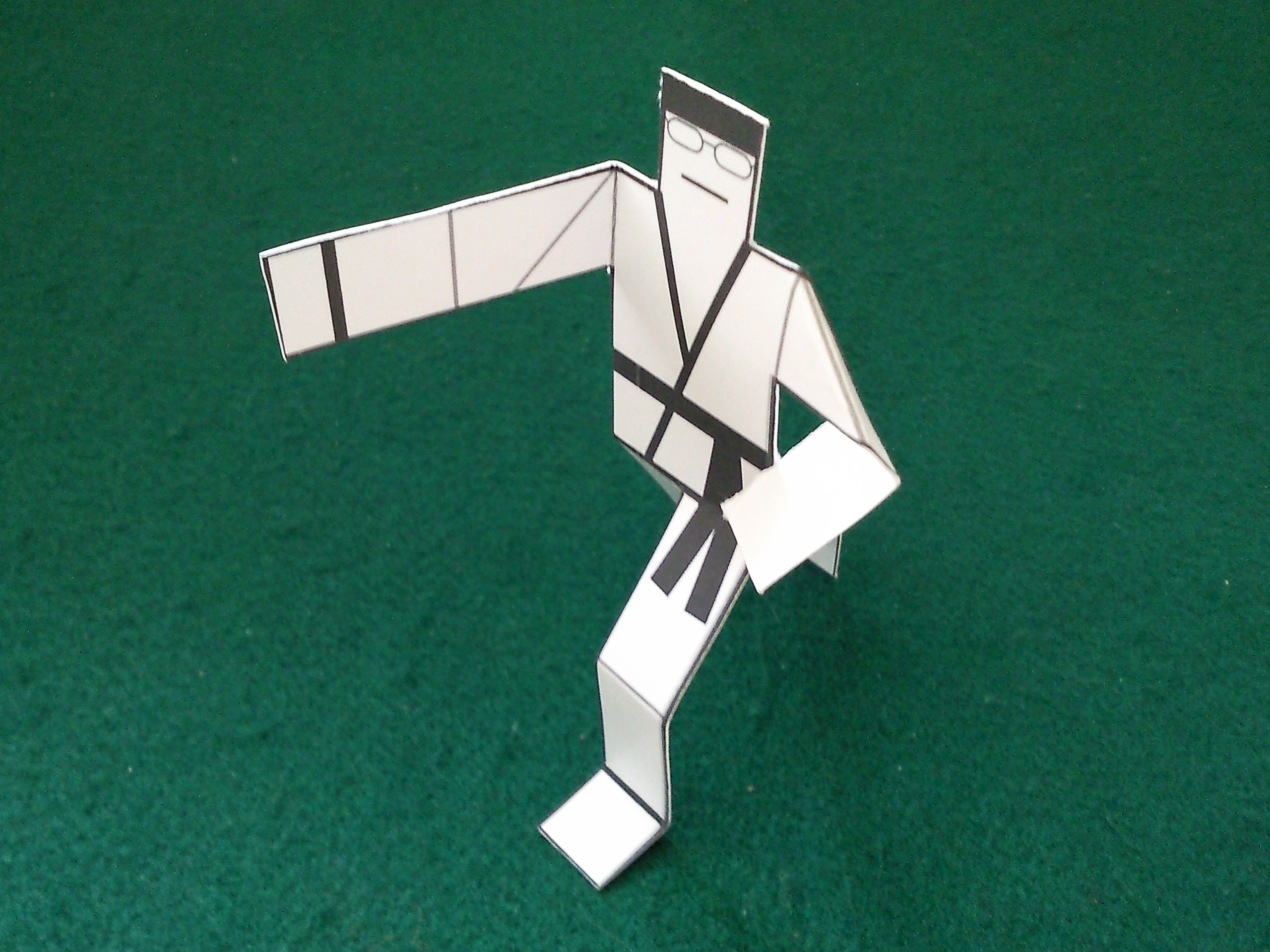 Karate PaperMan