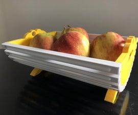 "Fruit Basket ""Cradle"" - 3D Printed"