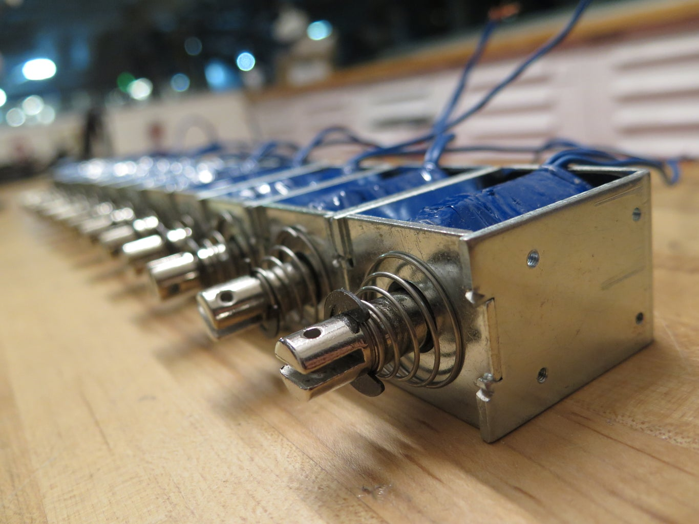 Extend Solenoid Cables
