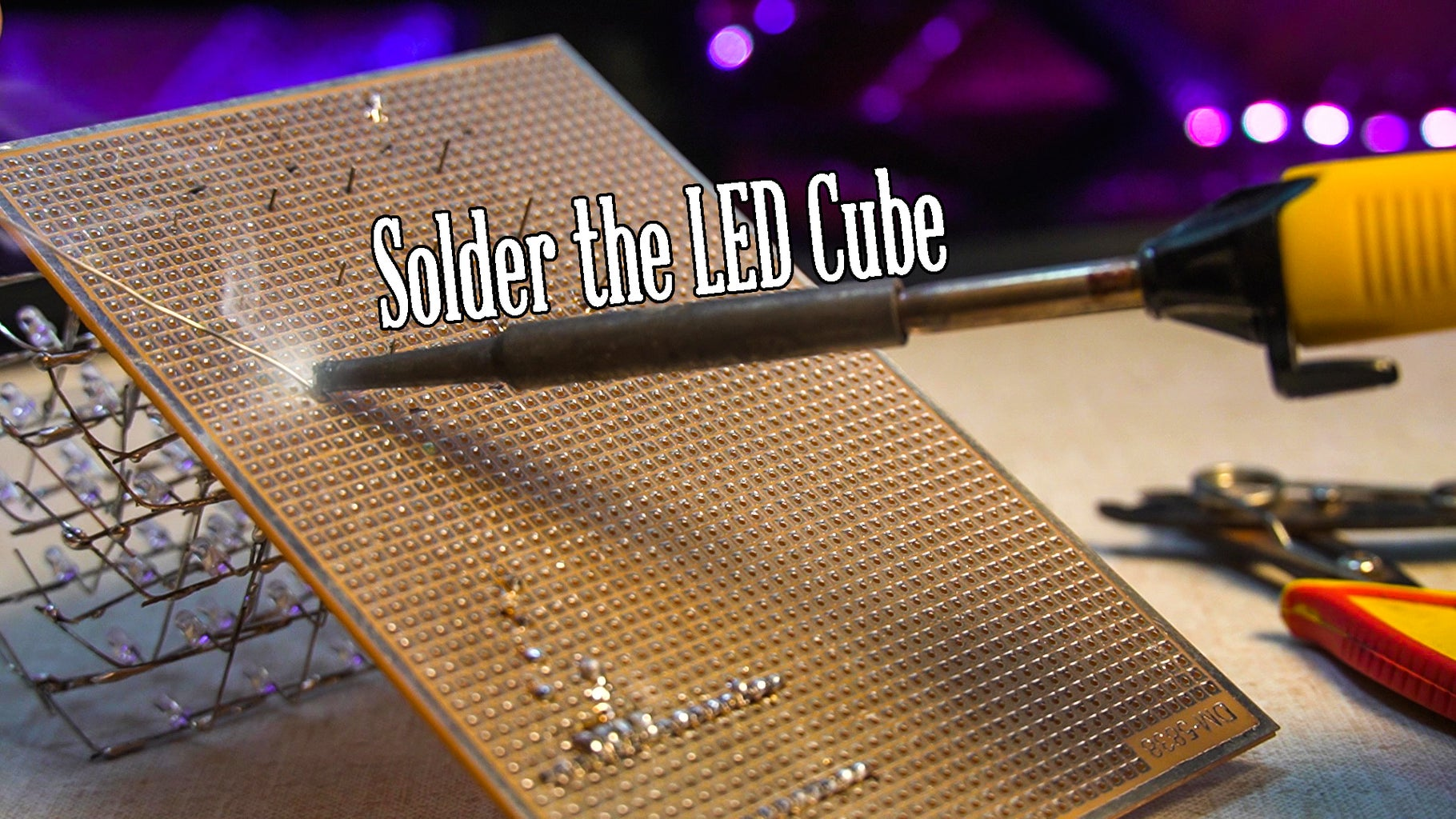 Solder the PCB
