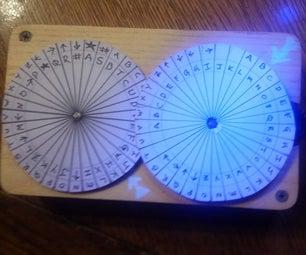 Geared Code Wheel