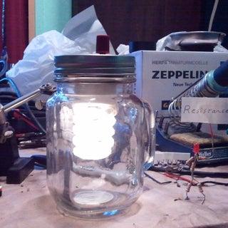 Jar Lantern