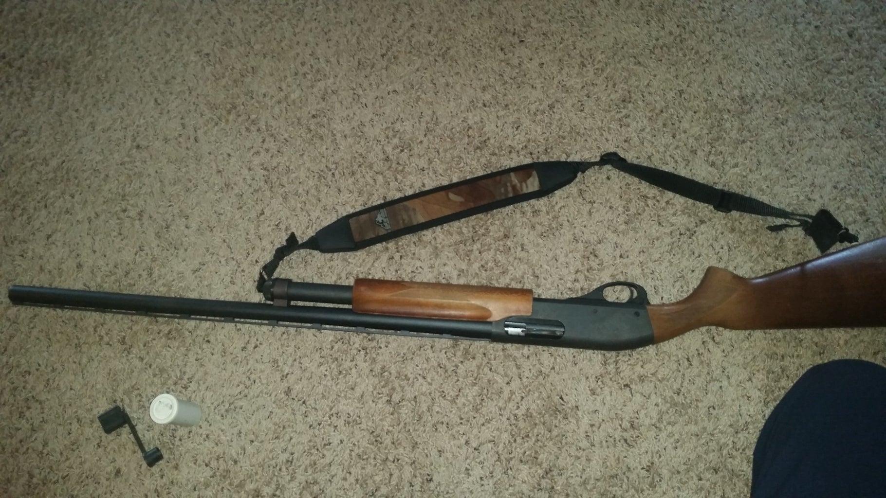 Changing a Remington Shotgun Choke