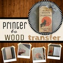 Image Transfer to Wood