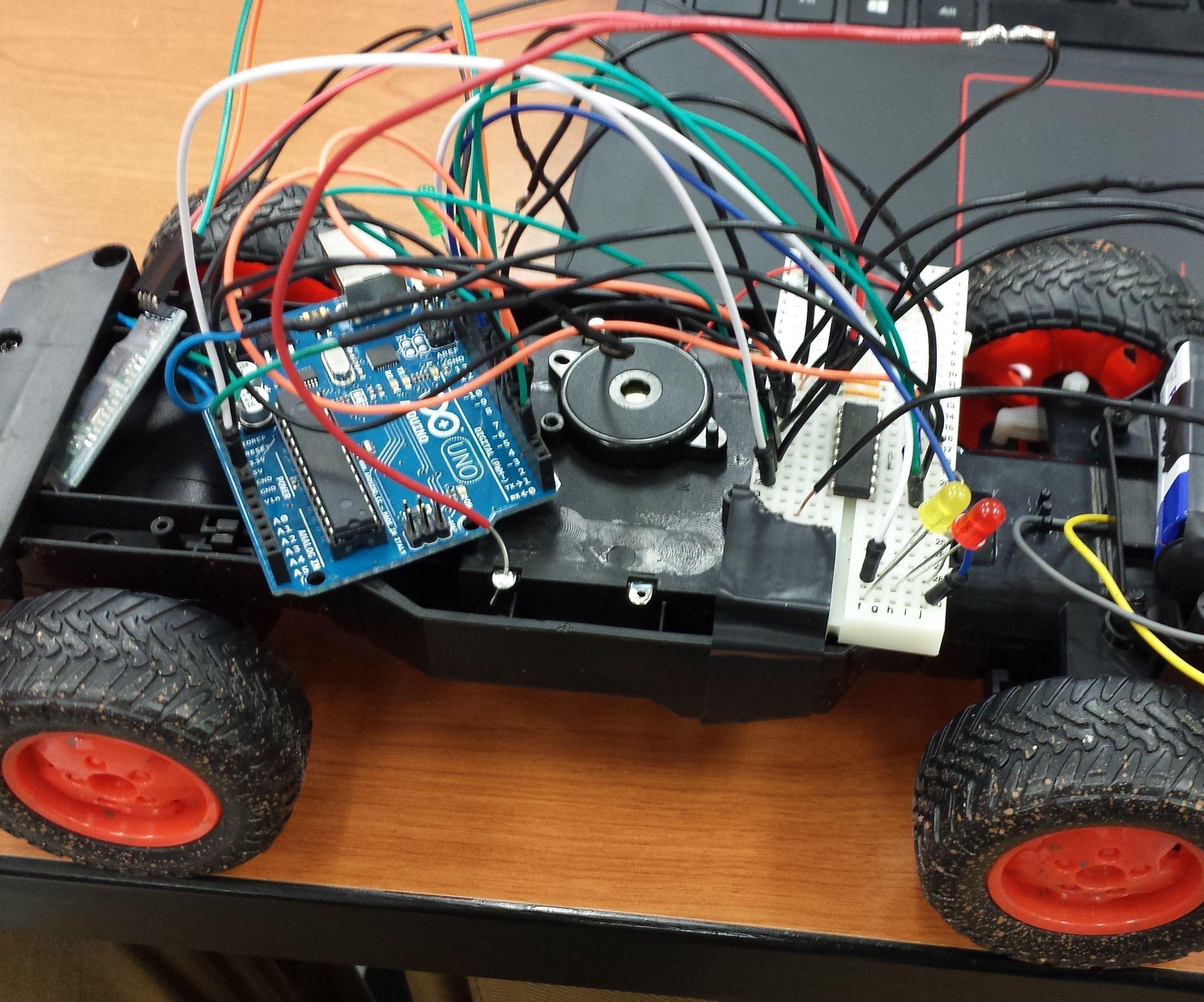 Bluetooth RC Car: Part 1