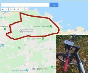 Bike GPS Trail Mapper