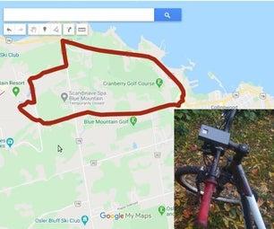 自行车GPS Trail映射器