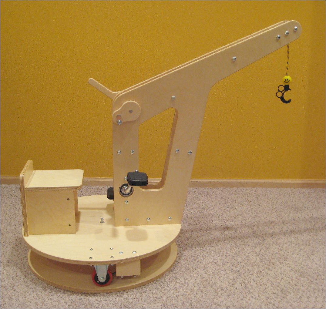 Kid Crane Riding Toy