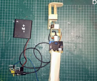Simple Gimbal With Micro:bit and 2 Servos