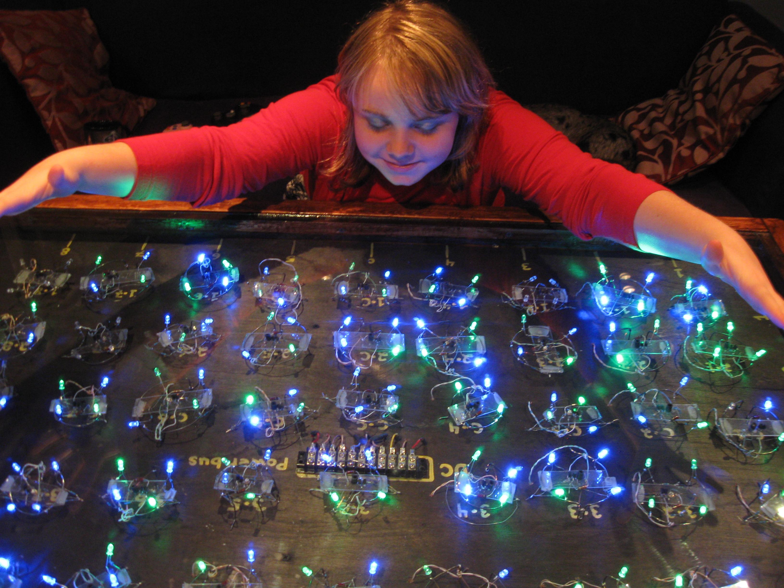 Analog LED Table