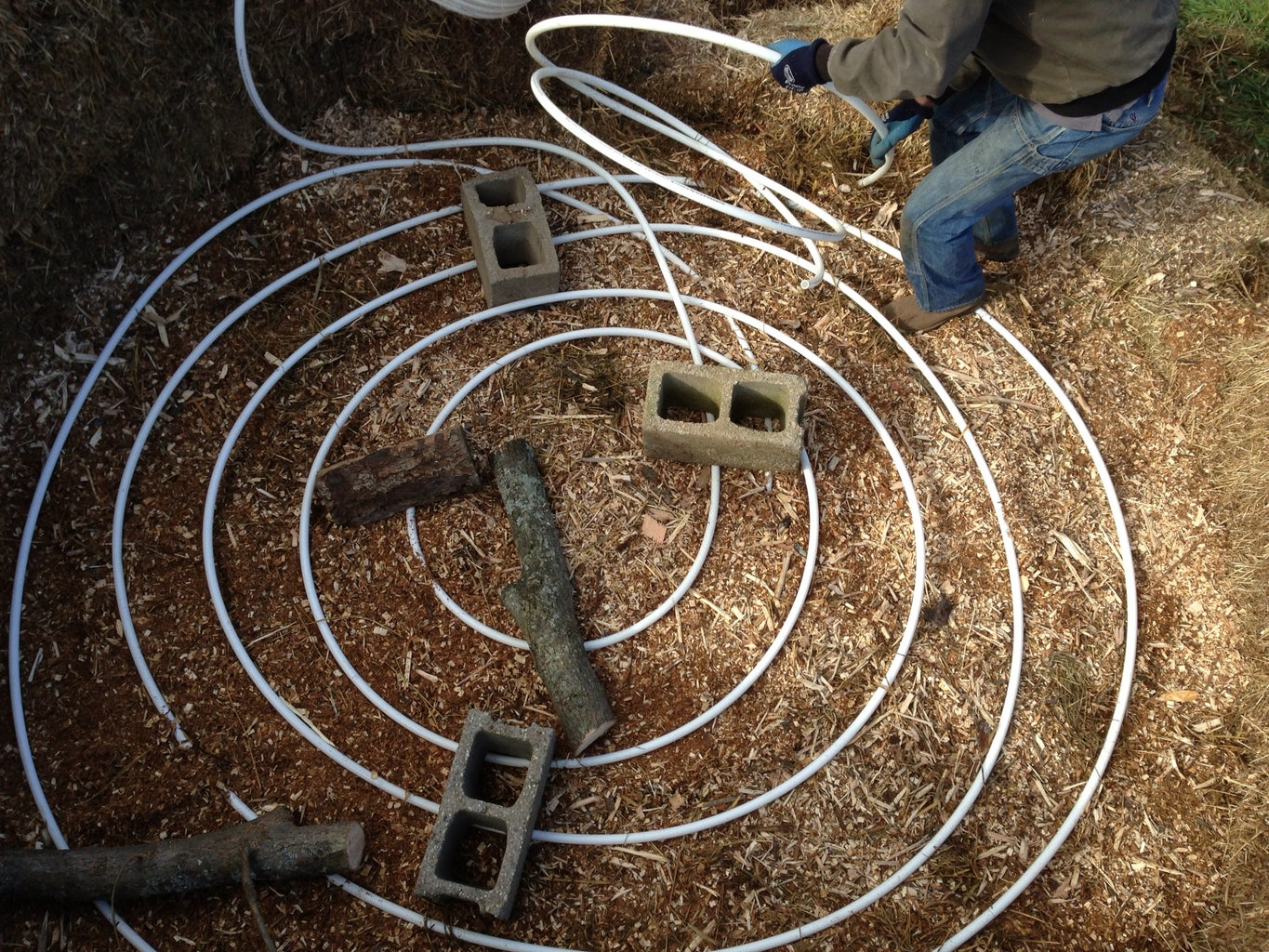 Lay the Hydronic Loop