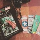 DIY : Captain America Bookmark