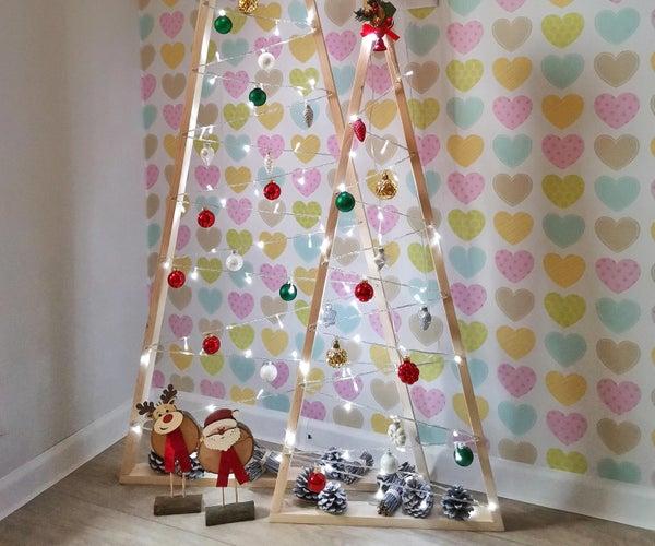 DIY现代圣诞树