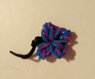 Loomless Butterfly Charm