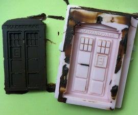 TARDIS Chocolate Mold