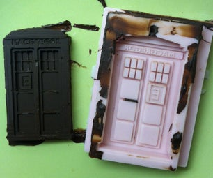 TARDIS Chocolate Mold