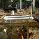 Water dispenser for chickens