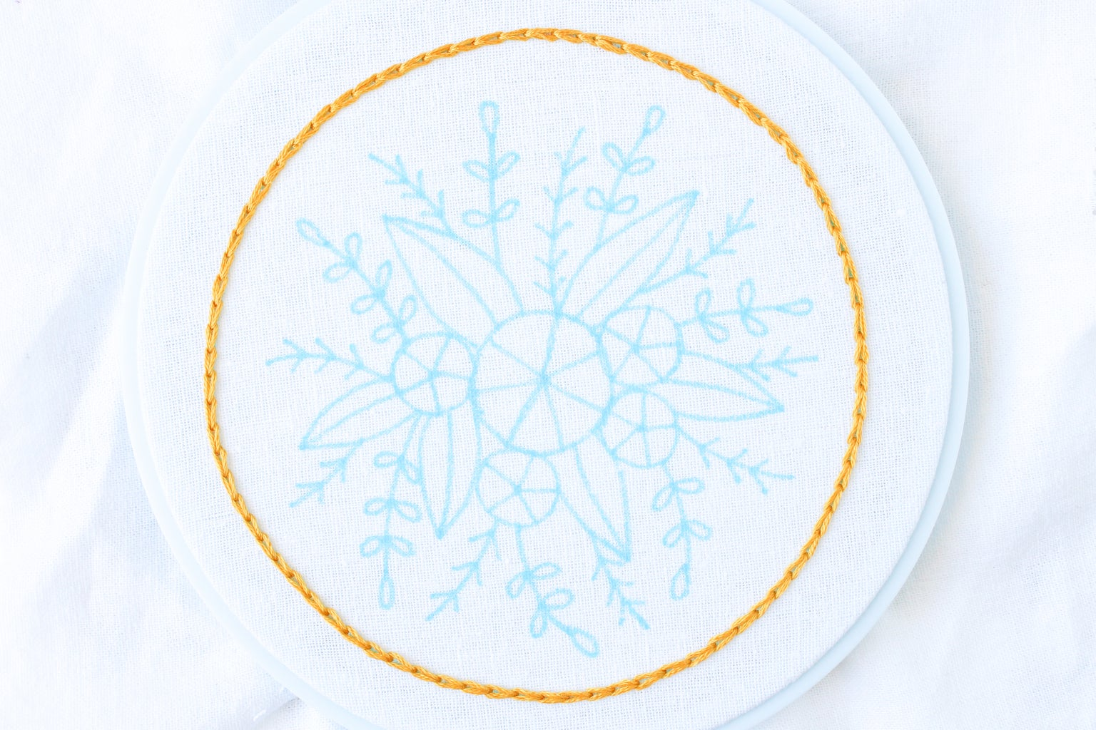 Draw a Circle With Spokes