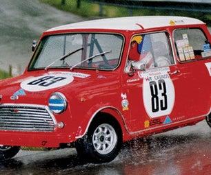 Knex Colin Macrae Mini Cooper Rally Car.