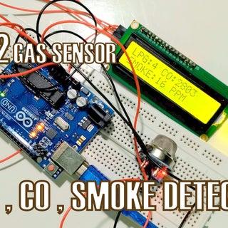 How to Use MQ2 Gas Sensor - Arduino Tutorial