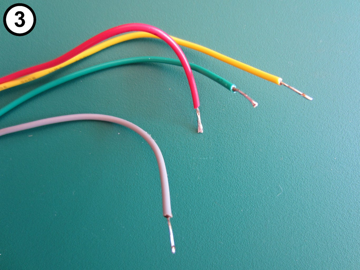 Attach Spade Tongue Terminals to Tower Lamp Wires