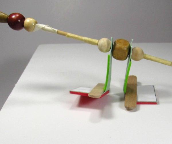 Gravity-Powered Robot Walker