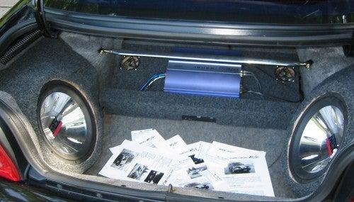 How to Make a Fiberglass Subwoofer Box