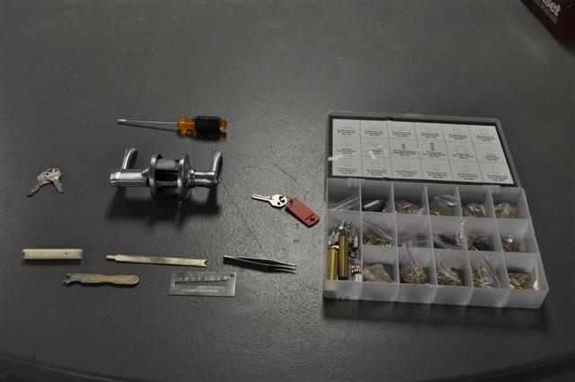 How to Re-Pin a Lock With Original Key