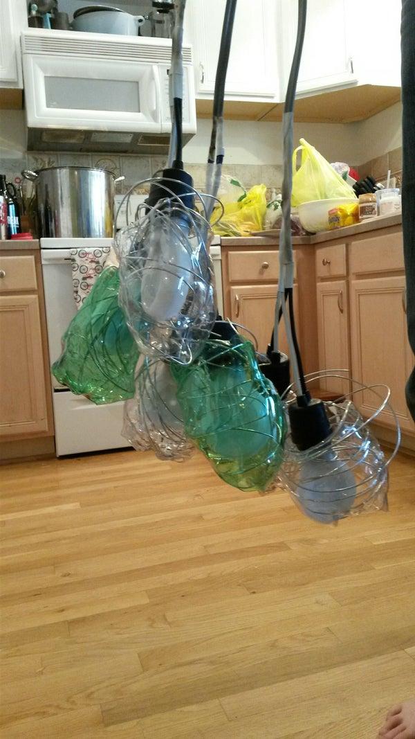 Soda Bottle Fixture