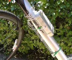 Cell Phone Battery Powered Bike Lights