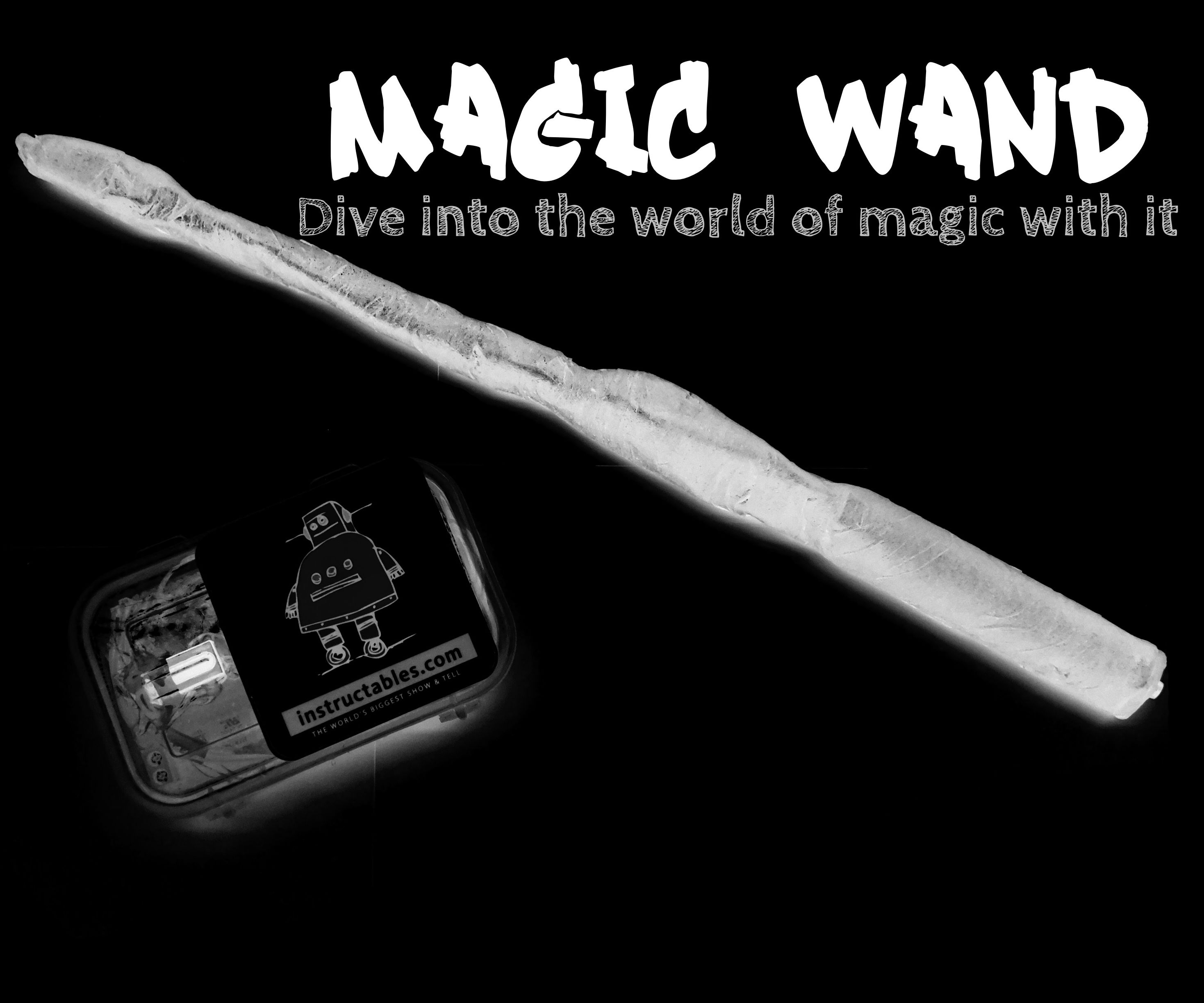 Magical Wand! Control your house with a wand