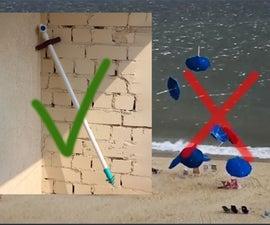 Sand Screw for Beach Umbrella 🏖