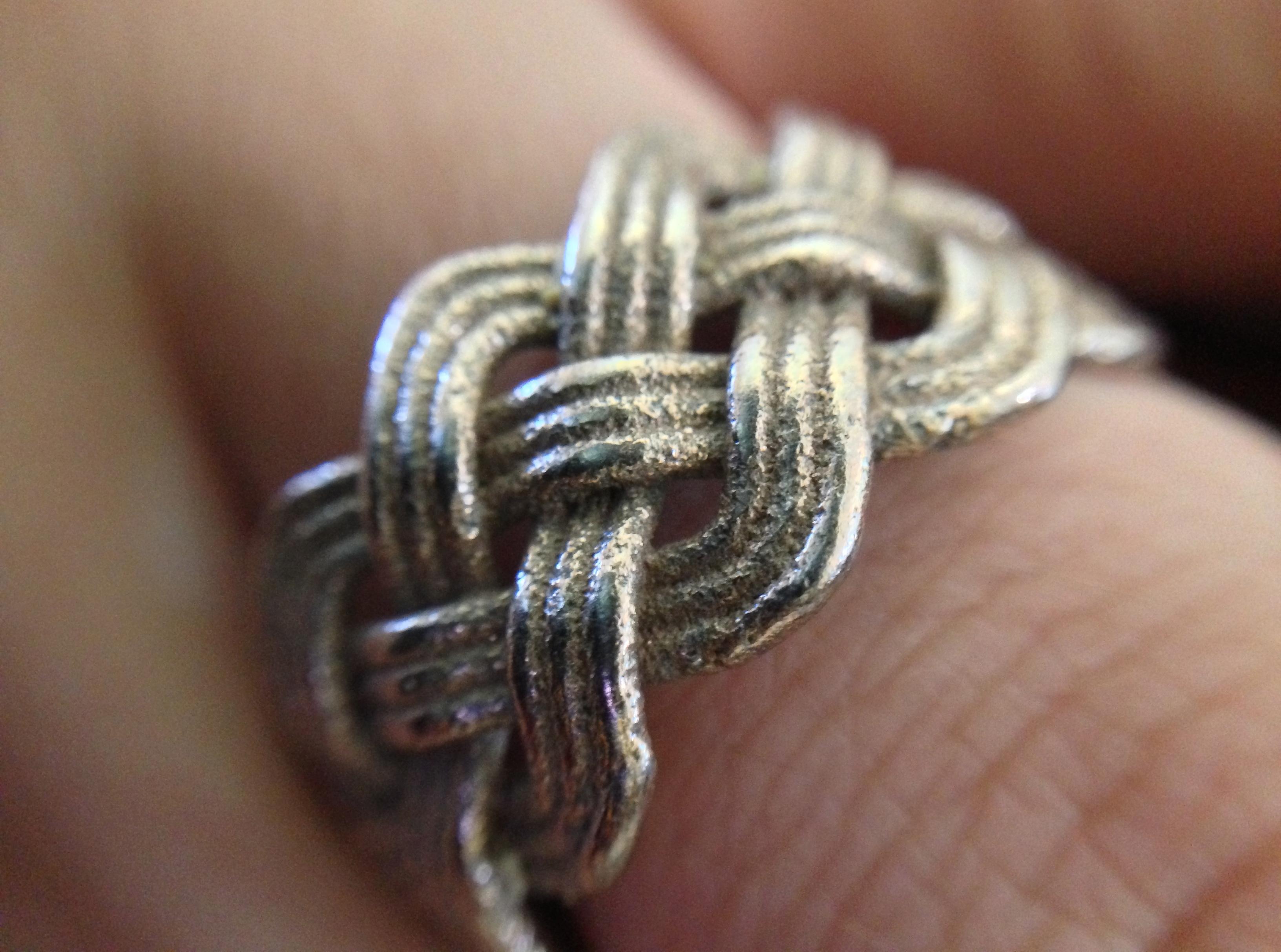 3D printed Turk's head rings