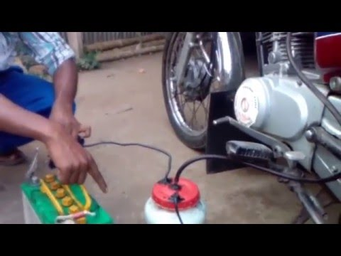 HHO hydrogen generator
