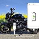 Add USB Charger to Motorcycle (turnable Off)