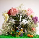 A New Flower Home for Lego Minifigures