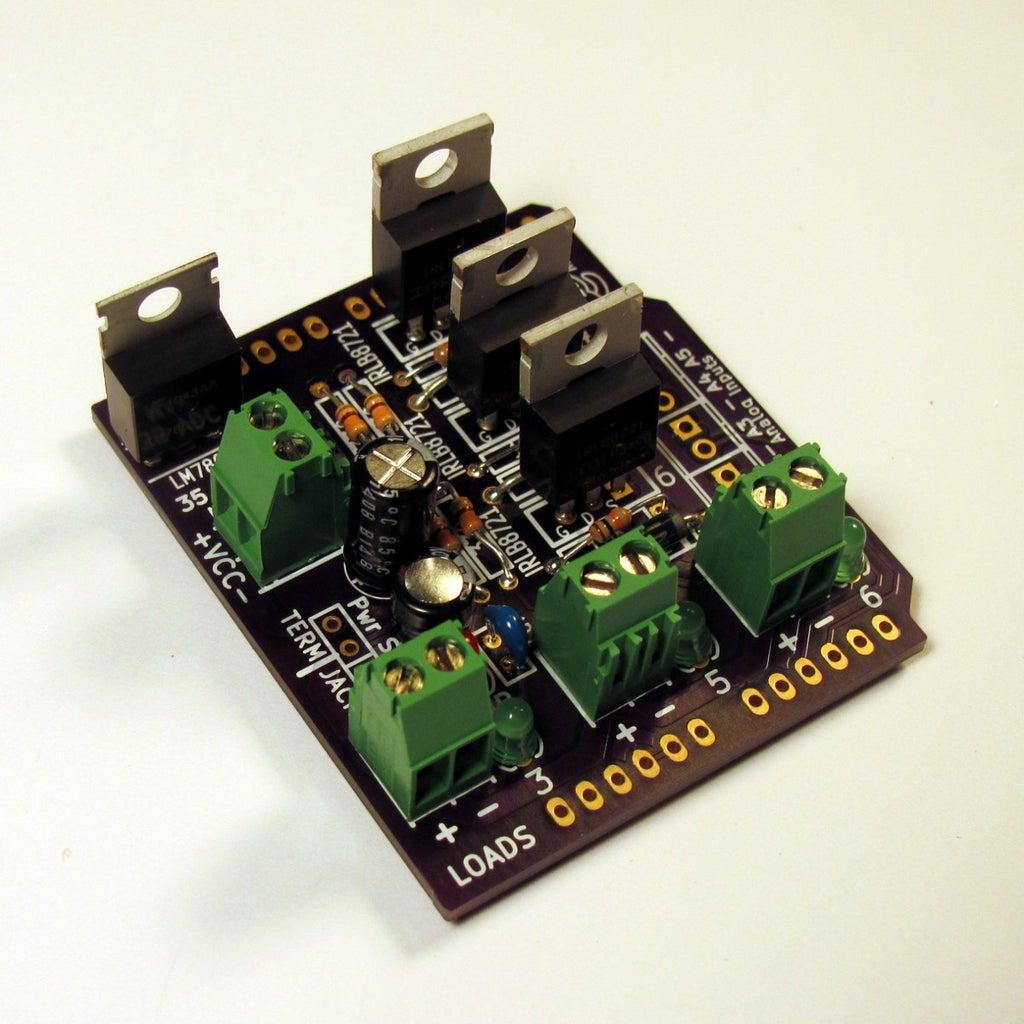 MOSFET, Voltage Regulator, and Power Jumper