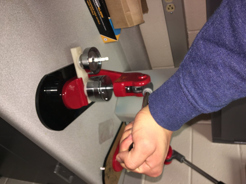 Pressing the Button