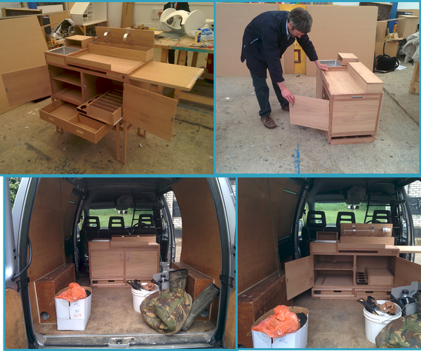 Tiny Kitchen Build (All in One Kitchen/Table and Chair Unit)