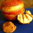 Peanut Butter-Apple Layers