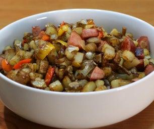 乡村炸土豆