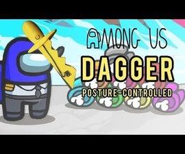 DIY Posture-controlled Among Us Dagger With 9 Axis Sensor DIY